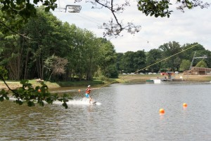 Water park at Pouligny