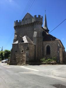 Fortified Church at Bonnat